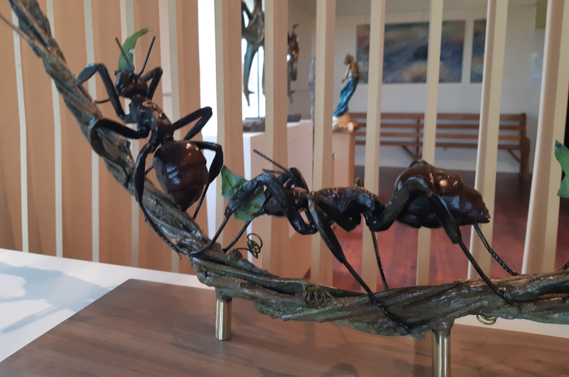 Sculpture de fourmis